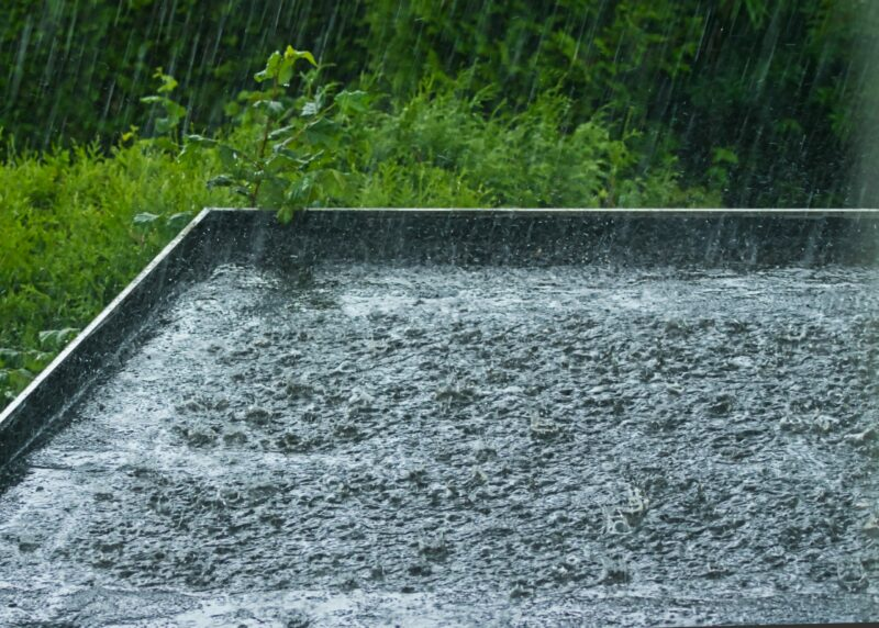 EPDM dak ideaal voor opvang regenwater