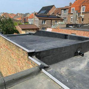 EPDM Realisatie De Panne Vervanging Roofing